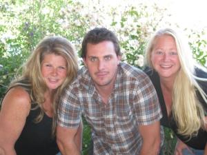 Christy Holly, Richard D. Swanson and Sandra Beck of Motherhood Talk Radio